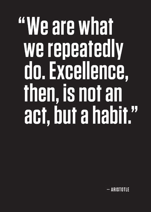 Aristotle Quotes Excellence