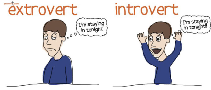 How an Extrovert Became Introverted